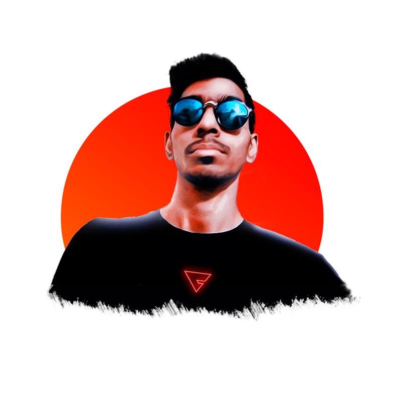 Jitesh Ghanchi photo Freelance Logo & Graphic Designer Surat | JEEiEE